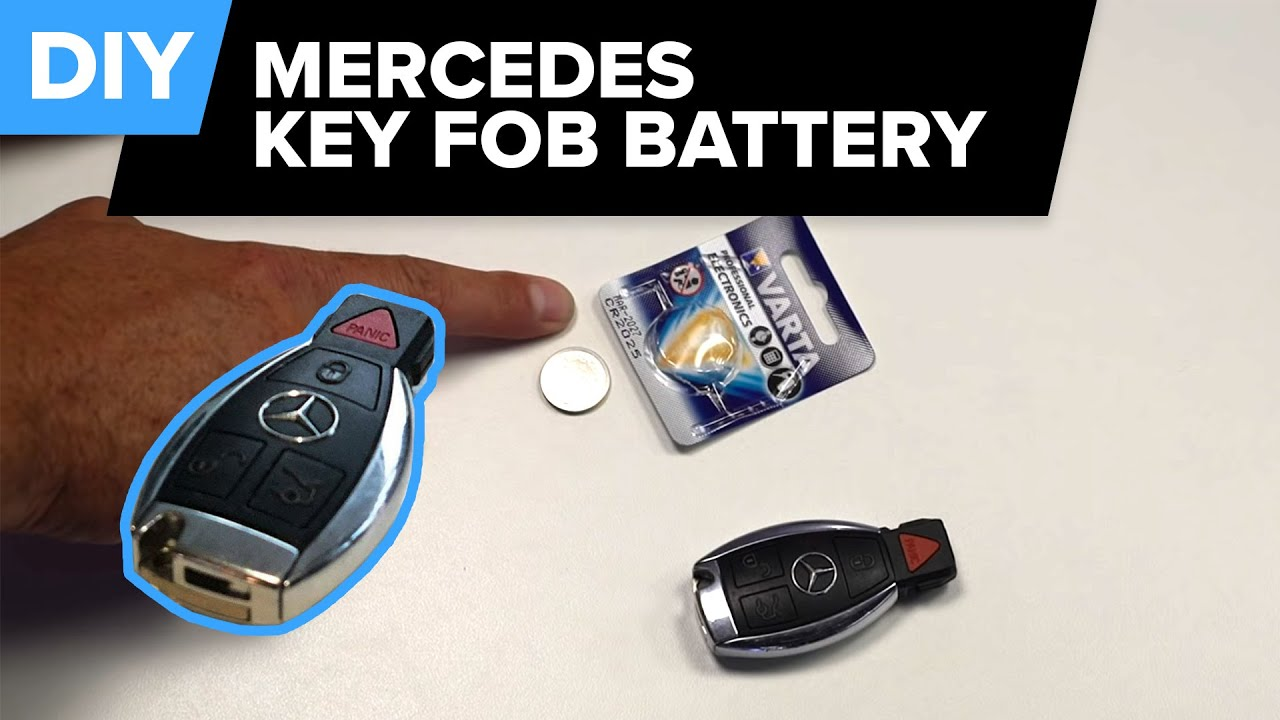 Mercedes Key Battery Change >> Mercedes Key Fob Battery Replacement Easy Diy How To 1995 2018