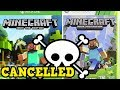 Minecraft Xbox 360 + Xbox One CANCELLED - No More Updates