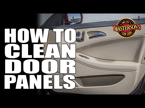How To Clean Dirty Door Panels - Masterson's Car Care - Interior Detailing