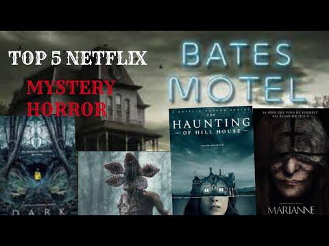 Top 5 tv series horror/mystery netflix