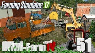 """Farming Simulator 17 Mini-Farm #51 - """"Cygańskie złomobranie"""""""