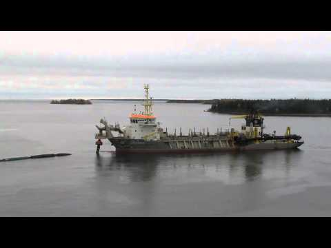 Trailing suction hopper dredger Crestway