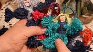 Как Сделать Куклы из Ниток Своими Руками(как сделать куклы из ниток своими руками - очень простые и очень красивые. Смотрите мои видео, инструкция..., 2013-12-17T18:55:16.000Z)