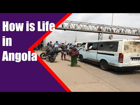Vlog in the streets of Luanda - How is Life in Angola