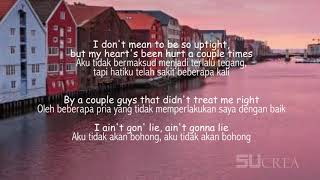 Meant To Be - Bebe Rexha Feat. Florida Georgia Line Lirik terjemahan Indonesia [MUSIC]