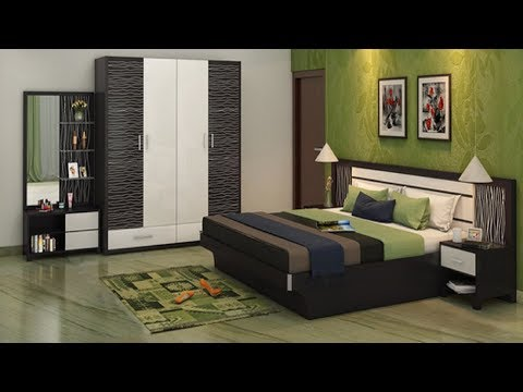 Simple bedroom Interior design ideas | Bedroom cupboards and bed interior designs