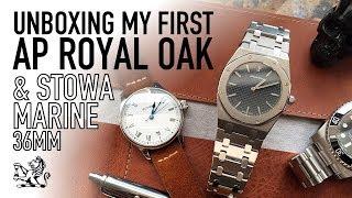Unboxing My First Audemars Piguet Royal Oak & Stowa Marine Classic 36mm Watches