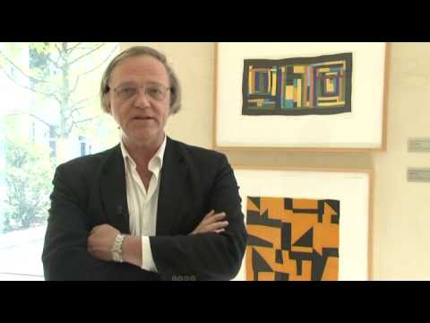 Quilters: Curator Robert Storr talks on works of art on show in the Embassy