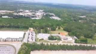 MD-90 Landing at Hartsfield-Jackson Atlanta International Airport