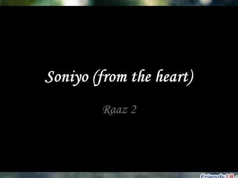 Soniyo from the heart raaz 2 full song
