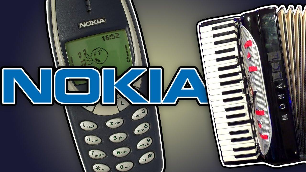 The Nokia Tune On Accordion