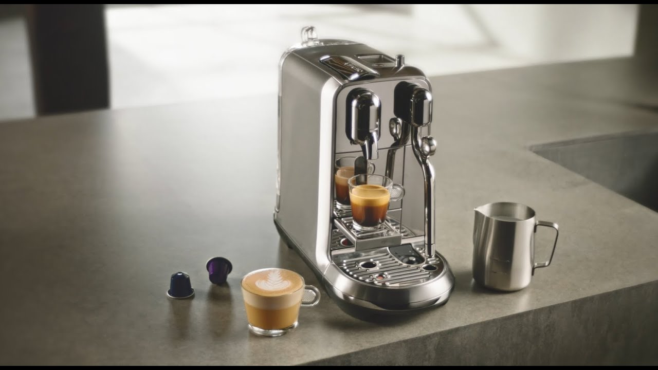 Nespresso - the new Creatista Plus | IL - YouTube