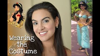 Wearing Disney's Princess Jasmine Outfit: Smell, Texture, Feel...