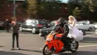 Свадьба со спорт-байками в Нижнем Новгороде