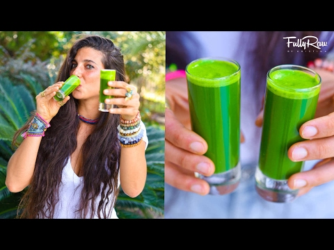 "FullyRaw Cold & Flu Juice ""Shot!"" My Secret Immunity Booster!"