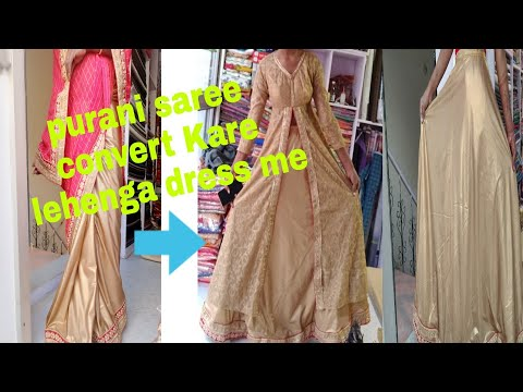 purani saree se party wear designer lehenga dress Banaye from YouTube · Duration:  19 minutes 39 seconds