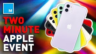 Apple Event Recap In 2 Minutes