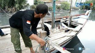 KISAH Abdul Rouf Menyebrangkan Orang Scara Sukarela di Kali Lohji Kota Pekalongan
