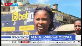 Maggots breeding in Kenol Garbage area in Murang\'a hurting local eateries
