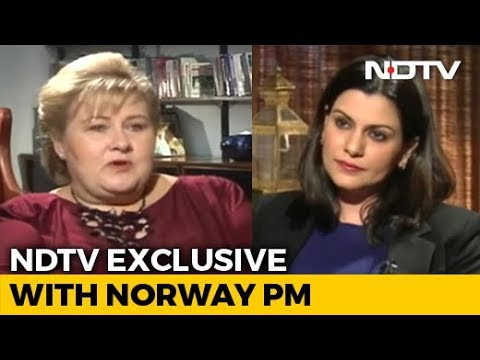 """Don't Think There Is A Military Solution To Kashmir"": Norway PM To NDTV"