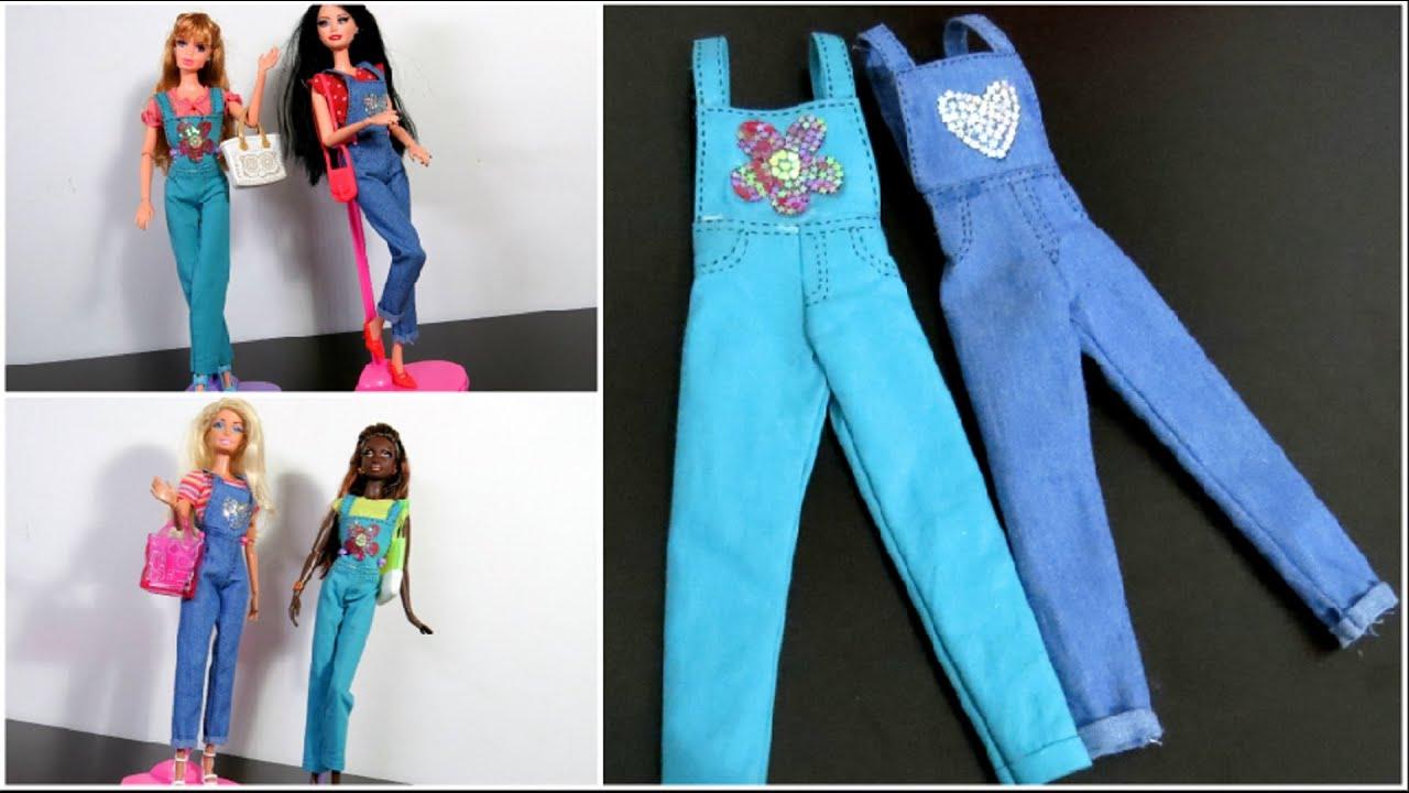 Vestido jeans barbie infantil