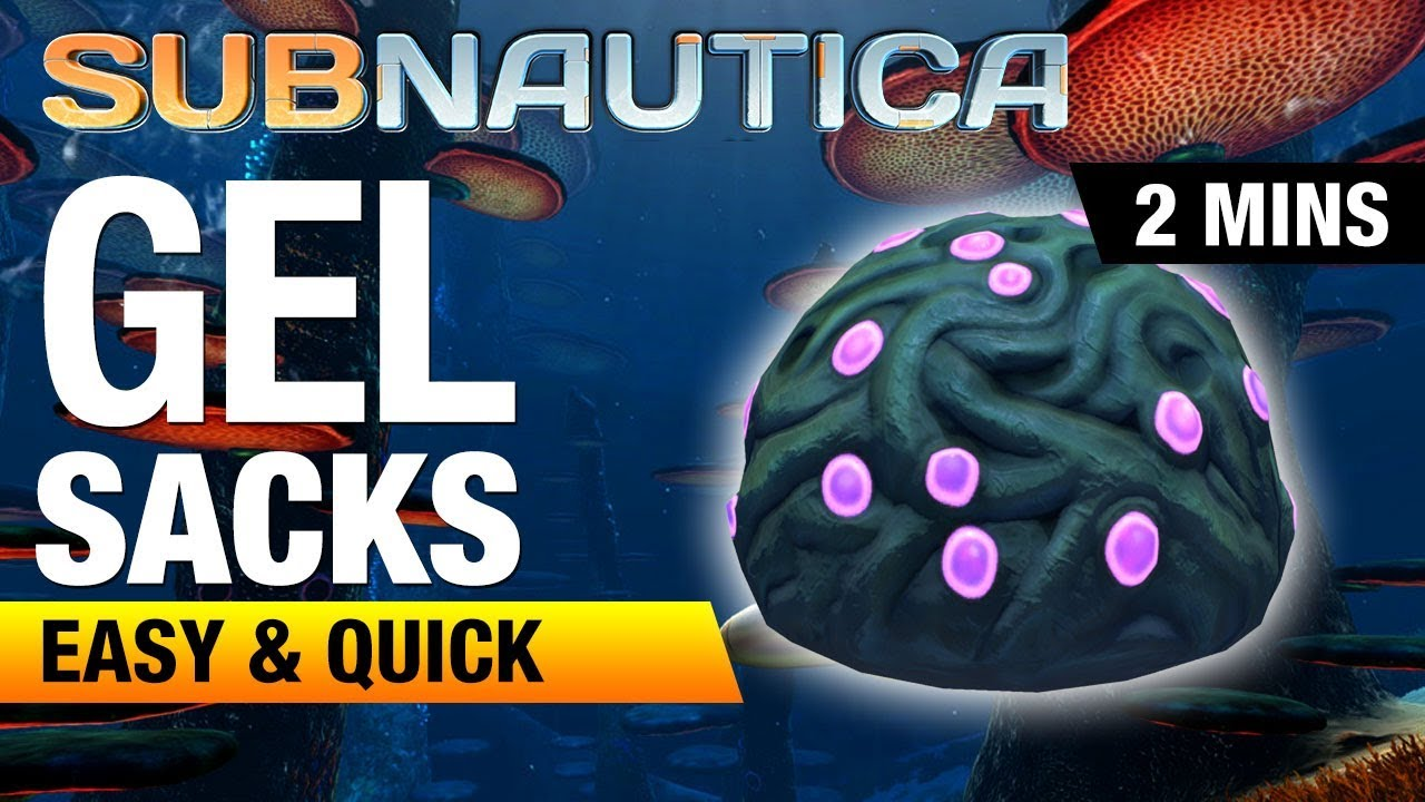 Where To Find Gel Sacks Subnautica Youtube If you're having a lot of trouble, i recommend building a scanner rooms are great as long as you understand their weakness: where to find gel sacks subnautica