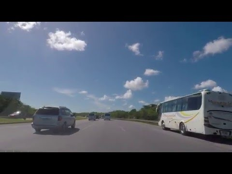 Driving in Dominican Republic. Punta Cana to Santo Domingo 1/2