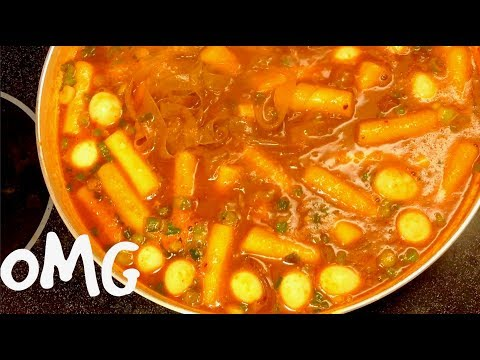 How to Make Spicy Rice Cake with Cheesy Noodles | tteokbokki recipe SUELLA