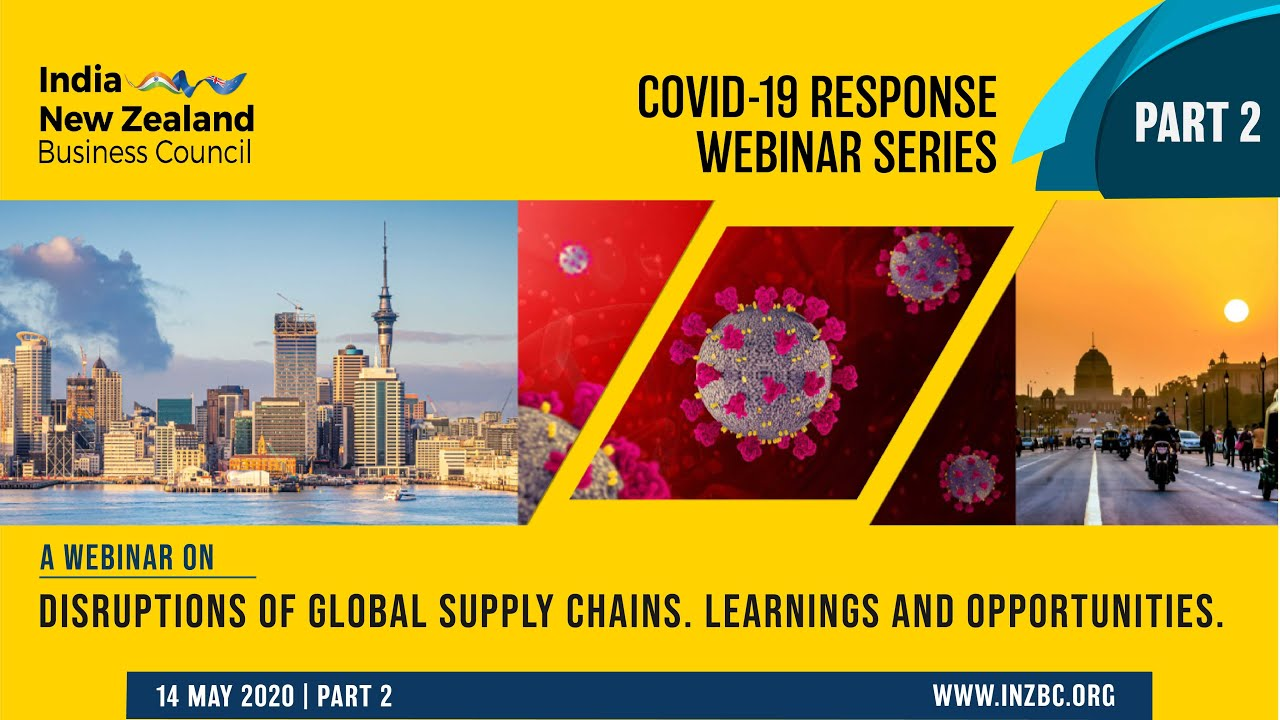 Webinar: Disruptions of Global Supply Chains - Learnings and Opportunities