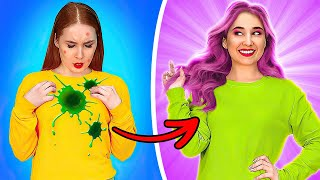 WHAT IT'S LIKE TO BE A GIRL? || Relatable situations and fails by 123 Go! GENIUS