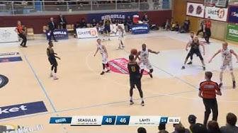 10.3.2020 Helsinki Seagulls vs Lahti Basket huippuhetket