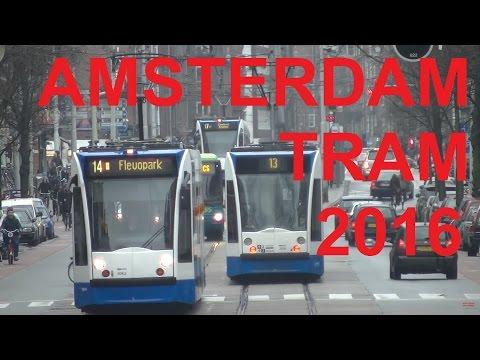Amsterdam Tram 2016