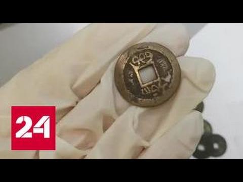 В Домодедове у пассажира изъяли партию старинных монет