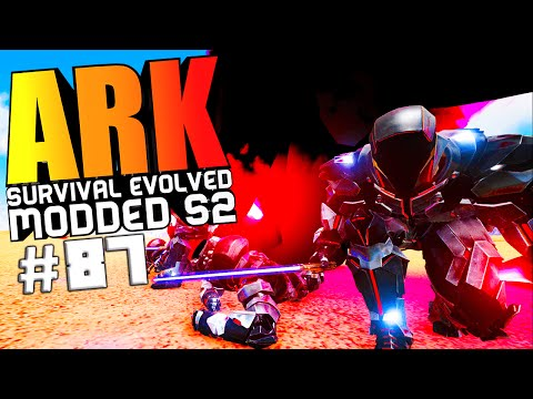 ARK Survival Evolved - FINAL BOSS WARCHIEF FIGHT & KILLING ALL WARDENS Modded #87 (ARK Gameplay)