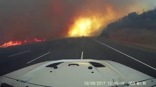 Canyon Fire 2 Corona Anaheim Hills 10-9-17