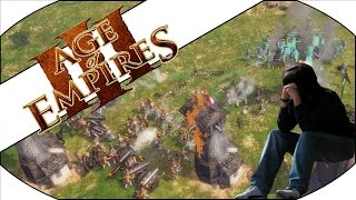 ALL BY MYSELF - Age of Empires III Multiplayer Gameplay!