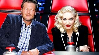 Blake Shelton Makes Fun Of Gwen Stefani On 'The Voice'