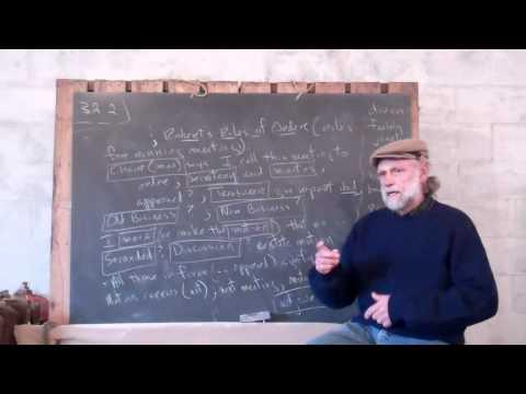 1.32.2 Robert's Rules of Order