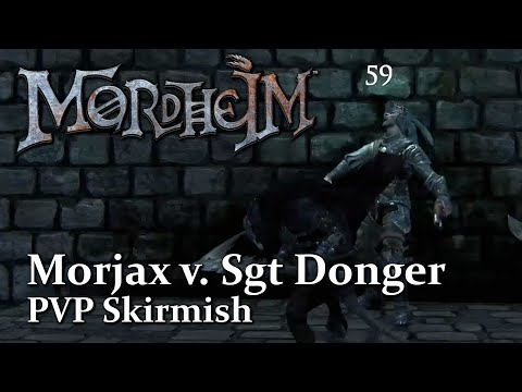 Morjax V Sgt Donger ► Let's Play Mordheim City of the Damned Multiplayer PVP | Skirmish Showcase