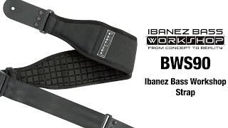 Ibanez BWS90 Bass Workshop Strap//Slip Stopper