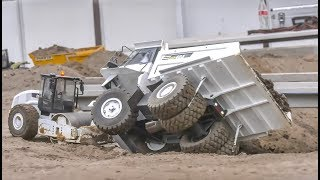 MONSTER RC Excavator! Truck fail! Tractors! Awesome RC Equipment!