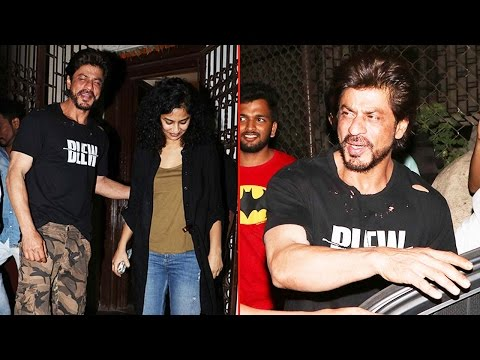 Shahrukh Khan spotted with Gauri Shinde at Shankar Mahadevan's house; Watch Video | Filmibeat