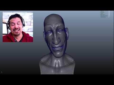 3D Character  Dialog Using Faceshift