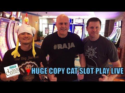 🔴Huge Copy Cat Slot Play Live 💣🎰💣