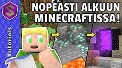 Miten Aloittaa Survival!   Minecraft Tutoriaali