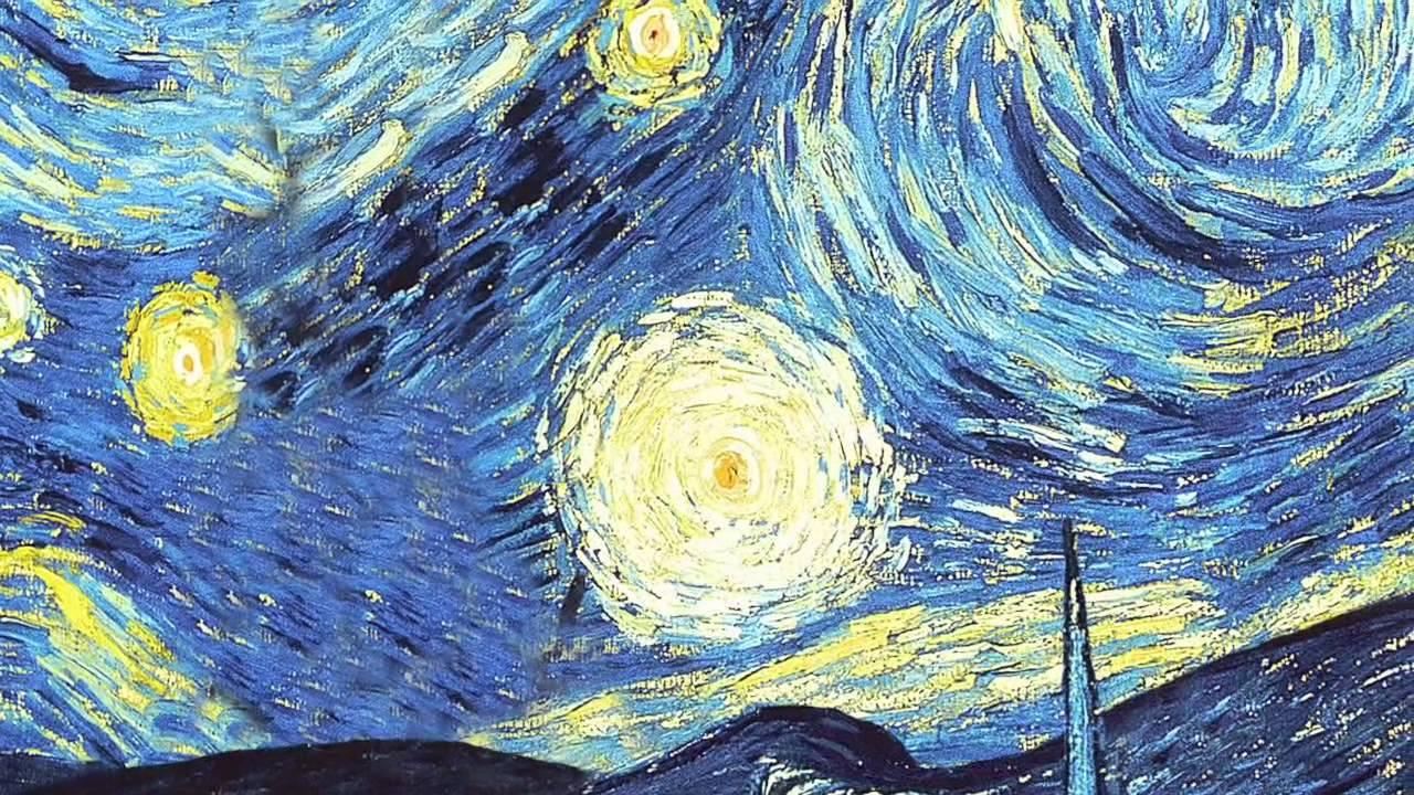 Gogh Screensaver Night Van Starry