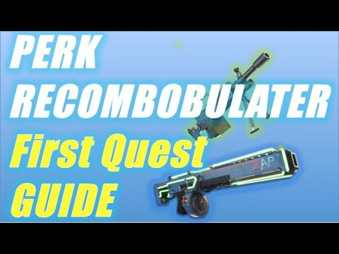 Perk Recombobulator First Quest Guide