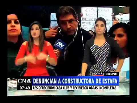 CONSTRUCTORA PAREDES GROUP REPORTAJE ATV NOTICIAS 25.05.17 CASA CLUB BONAVISTA EL GOLF DE HUAMPANÍ