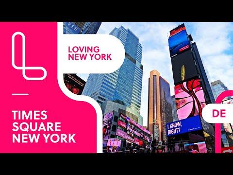 Times Square New York - das pulsierende Herz Manhattans
