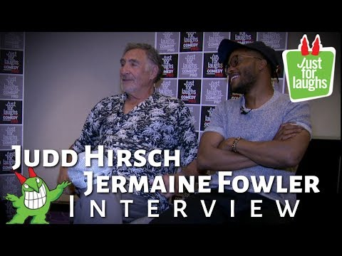 JUDD HIRSCH AND JERMAINE FOWLER INTERVIEW- Superior Donuts